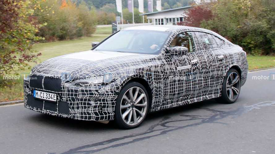 Photos espion BMW i4 - Octobre 2020