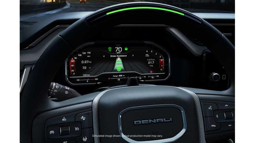 2022 GMC Sierra 1500 Denali Getting Super Cruise Driver Assistance