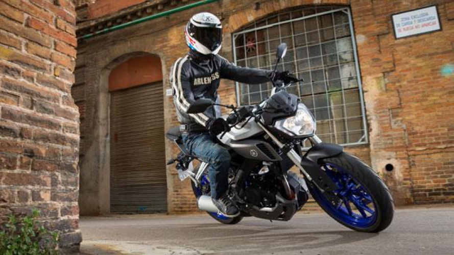 Yamaha MT-125 - TEST
