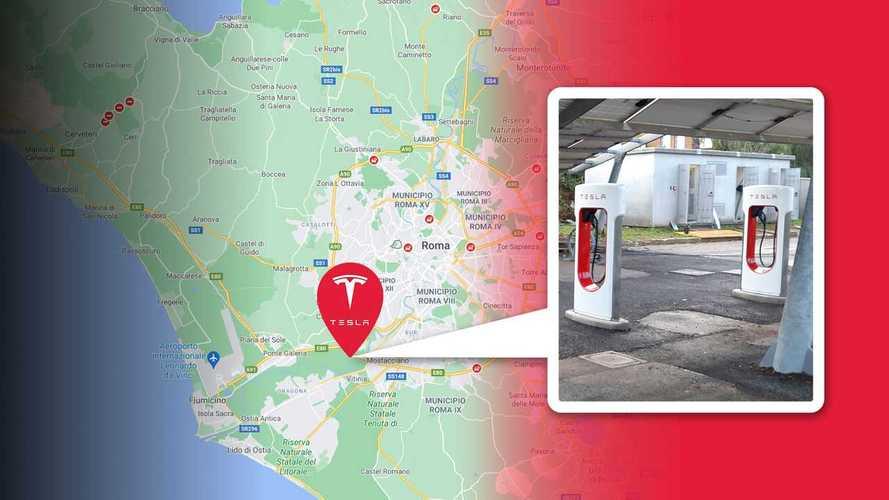 I Tesla Supercharger V3 arrivano a Roma