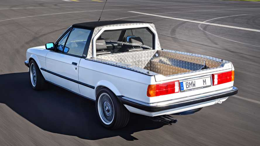 Vergessene Studien: BMW M3 Pick-up (1986)