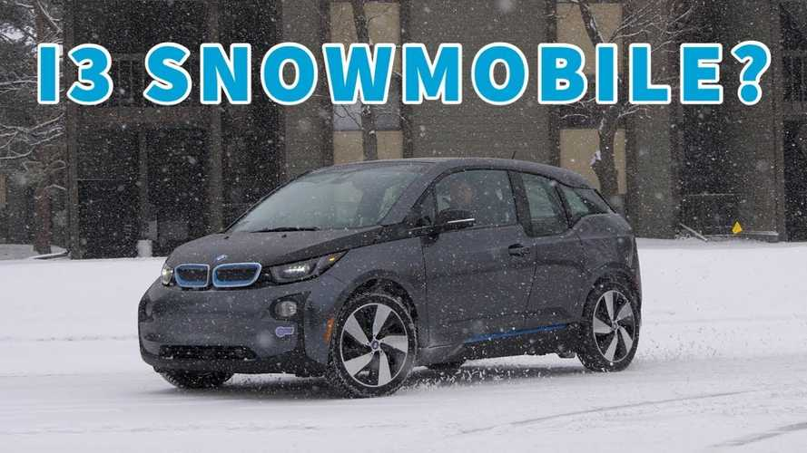 This BMW i3 Struggled In The Snow, So We Tried To 'Fix' It