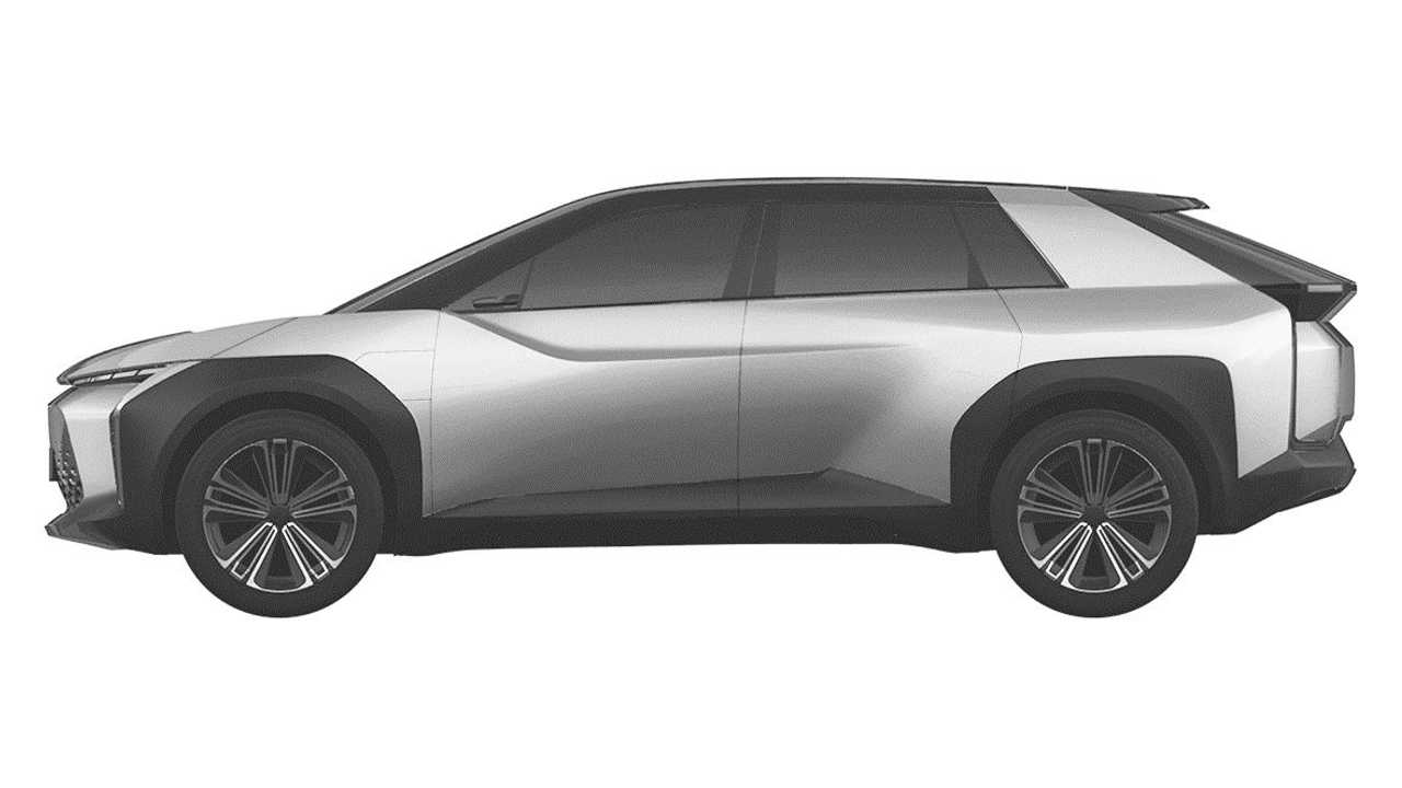 Toyota Crossover Design Trademark Driver Side