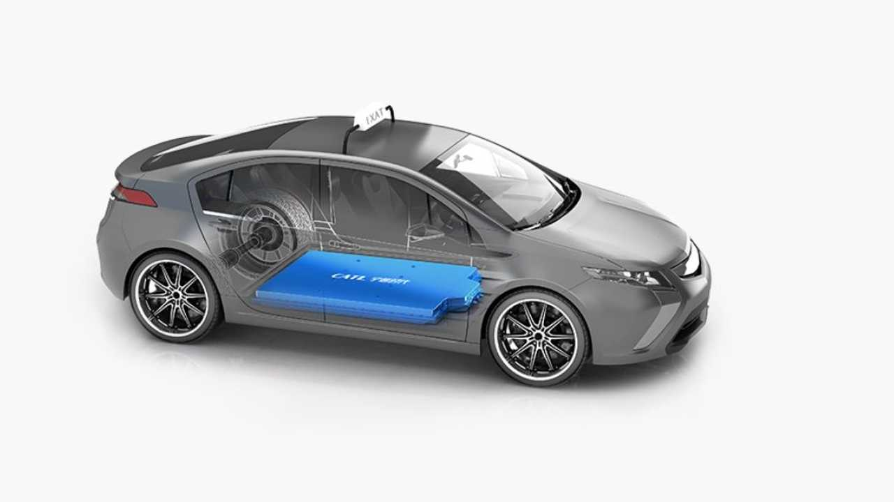 CATL battery in an electric car