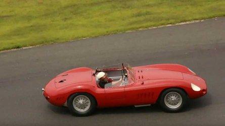 Video celebrating the 1957 maserati 300s through meticulous restoration