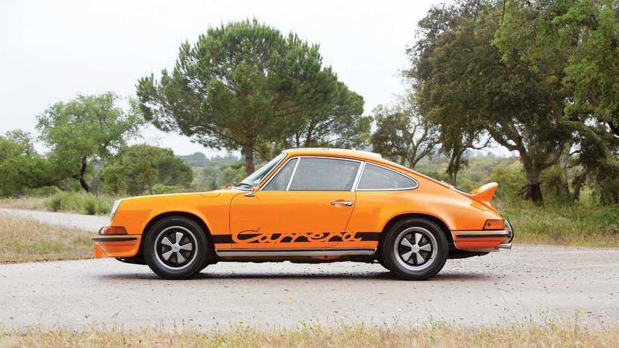 Une Porsche 911 Carrera RS vendue 602'000 euros aux enchères