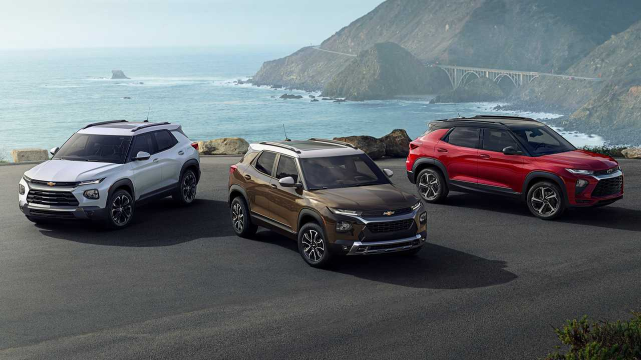 2021 Chevrolet Trailblazer lead image