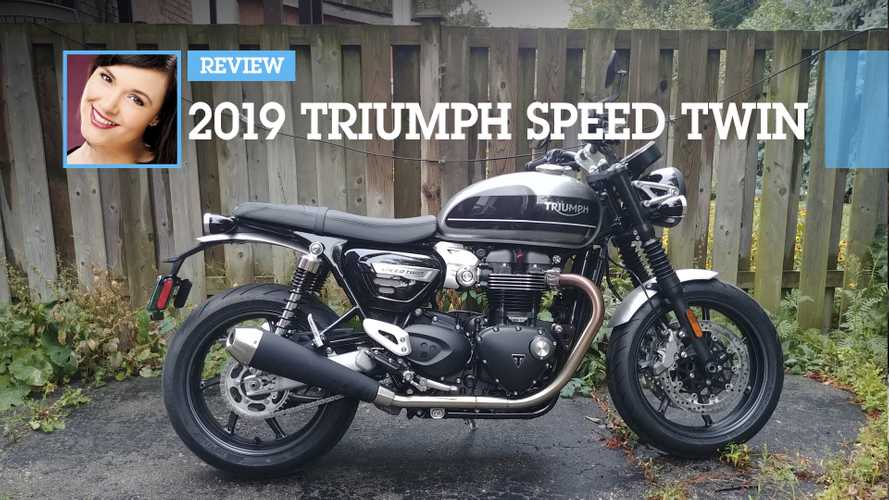 2019 Triumph Speed Twin Review Main