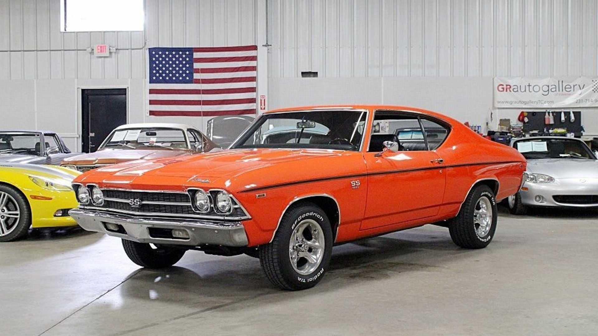 """[""""1969 Chevrolet Chevelle In Hugger Orange Hugs Every Curve""""]"""