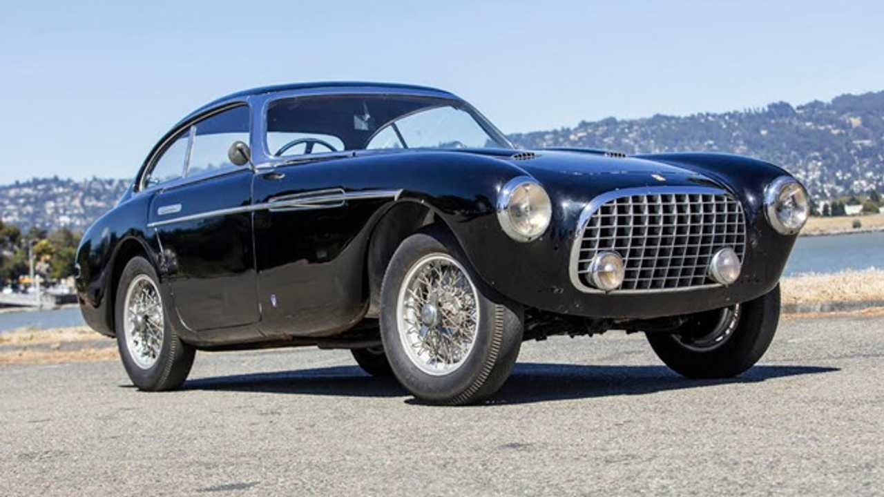1951 Ferrari 340 Coupe Sold At Bonhams During Monterey Car Week