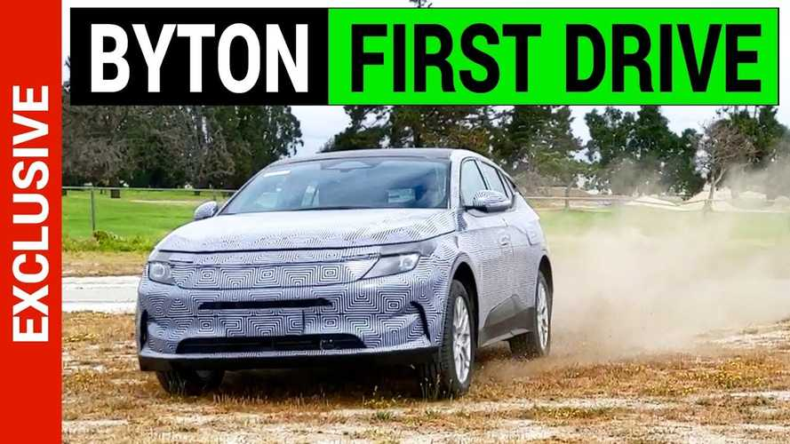 Byton M-Byte Electric SUV First Drive Video