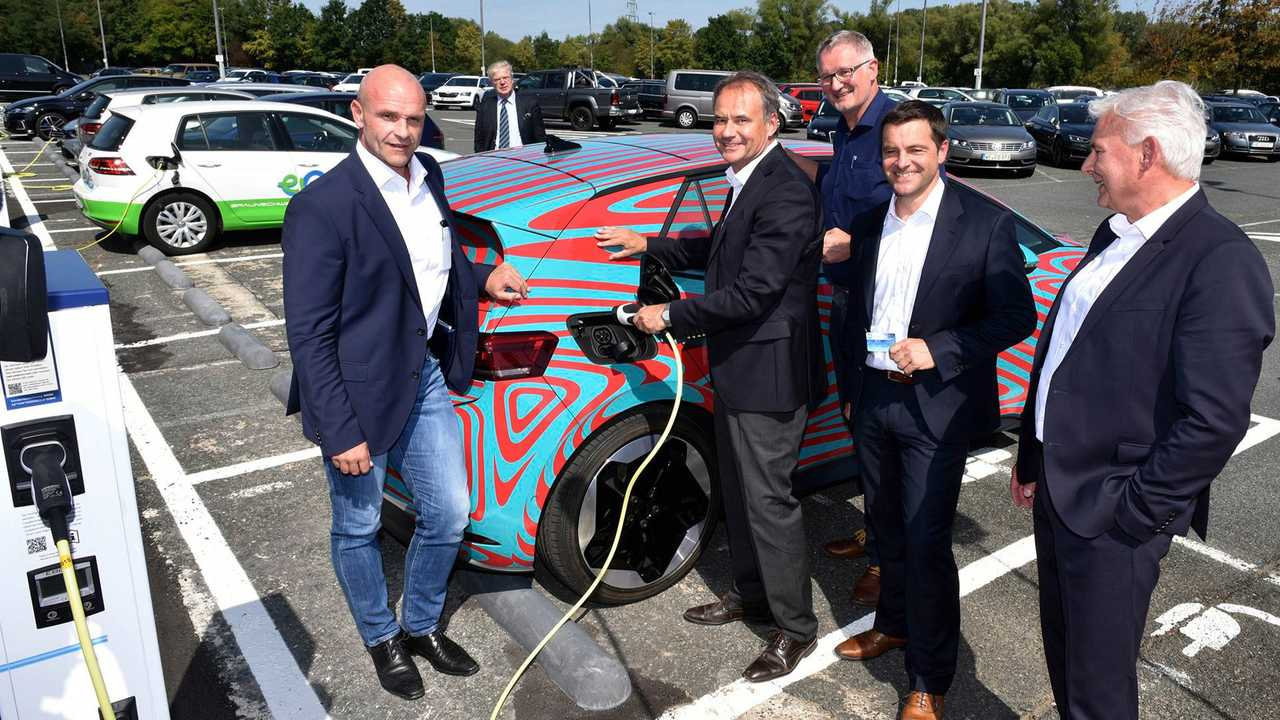 Volkswagen: 60 charging points for employees at Braunschweig site