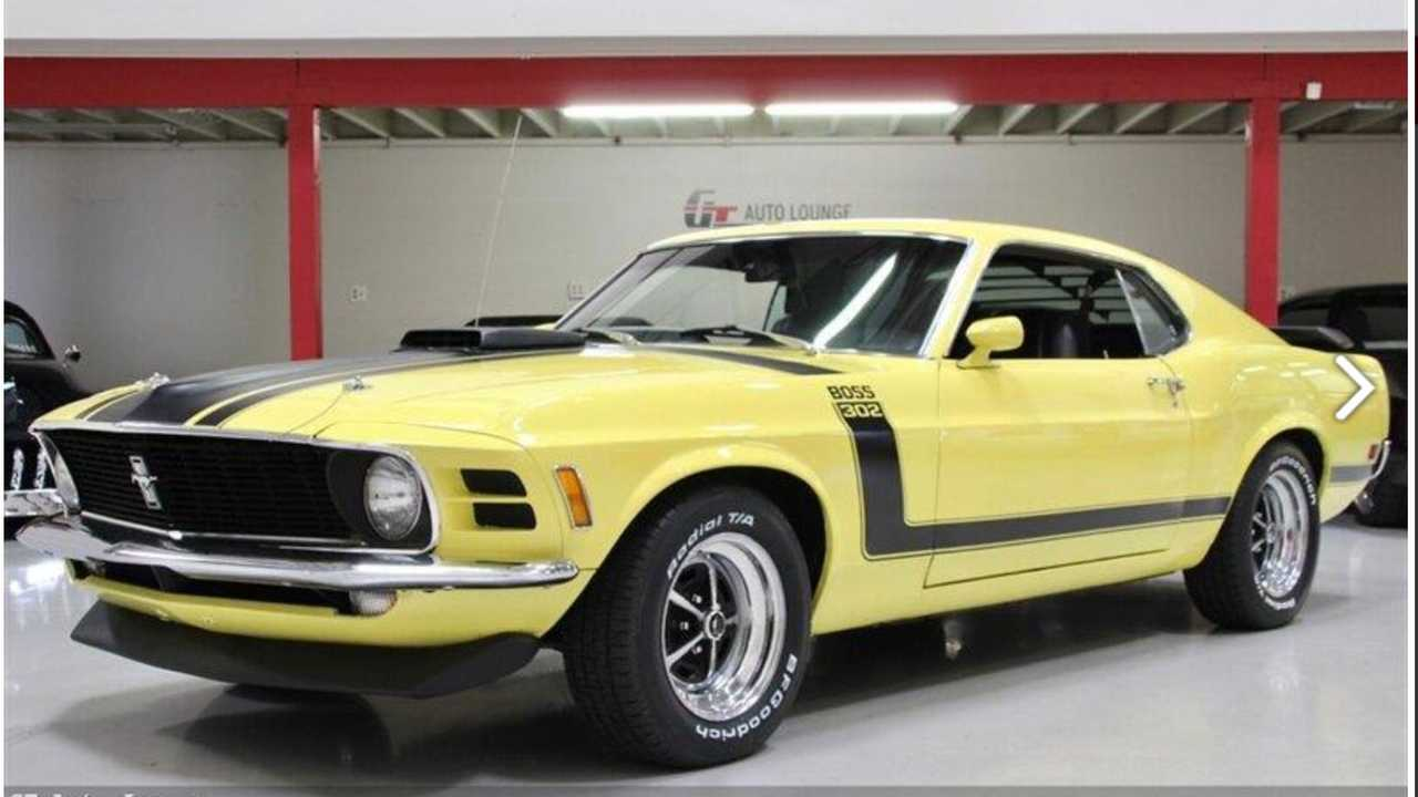 Bid On This Beautiful 1970 Ford Mustang Boss 302
