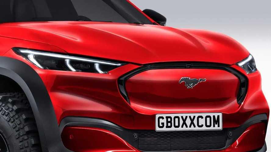Mustang Mach-E Truck Fan Renderings