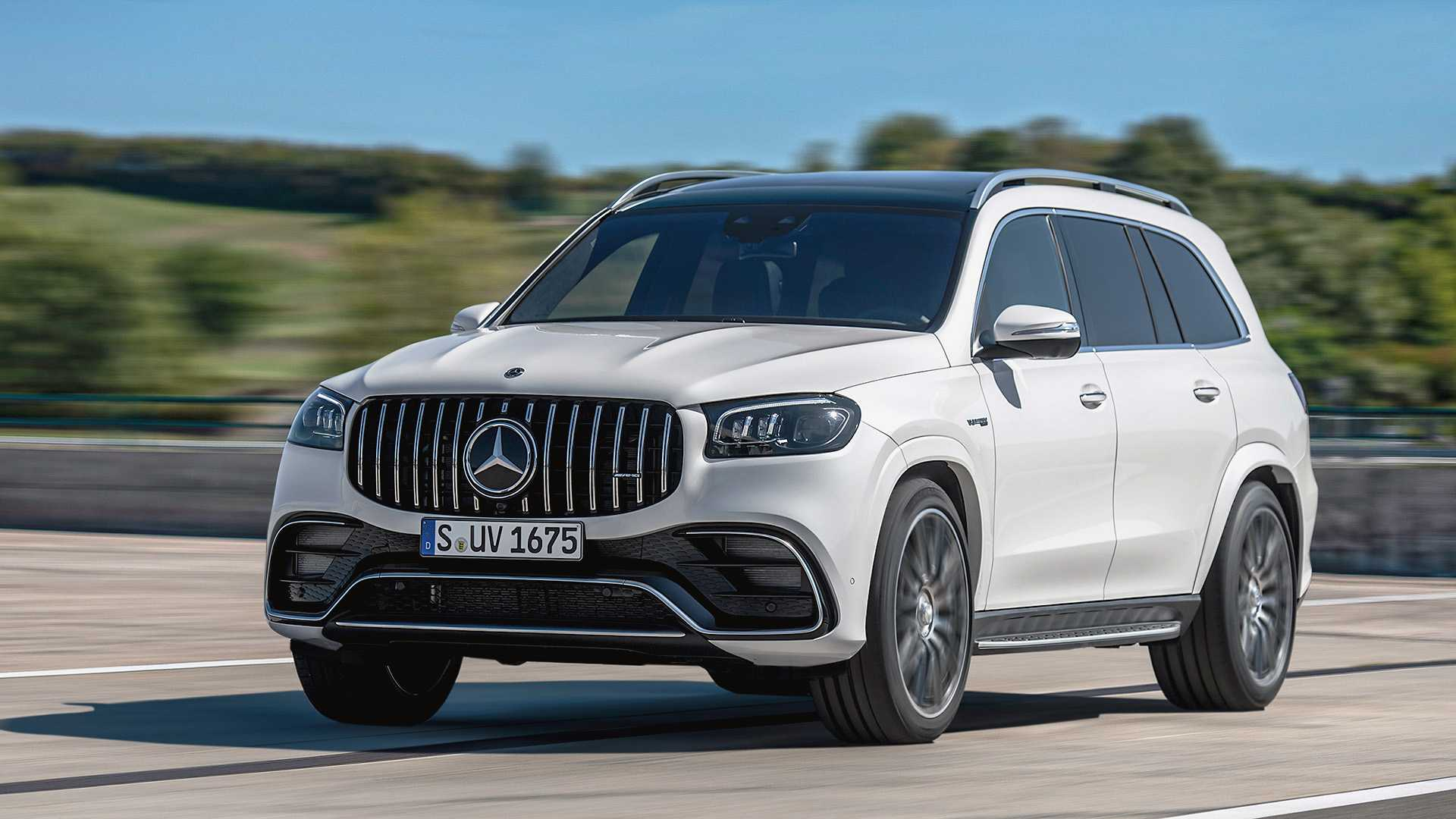2020 Mercedes GLS Photos