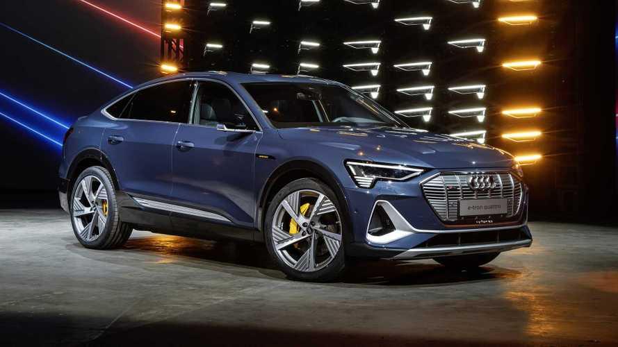 Audi E-Tron Sportback é apresentado com 408 cv em dois motores elétricos