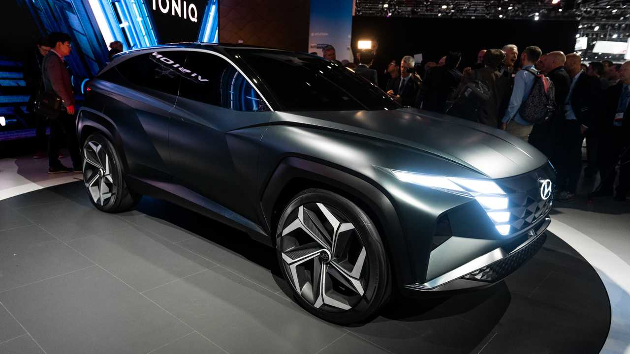 Hyundai Vision T Concept Previews Brands Future SUV