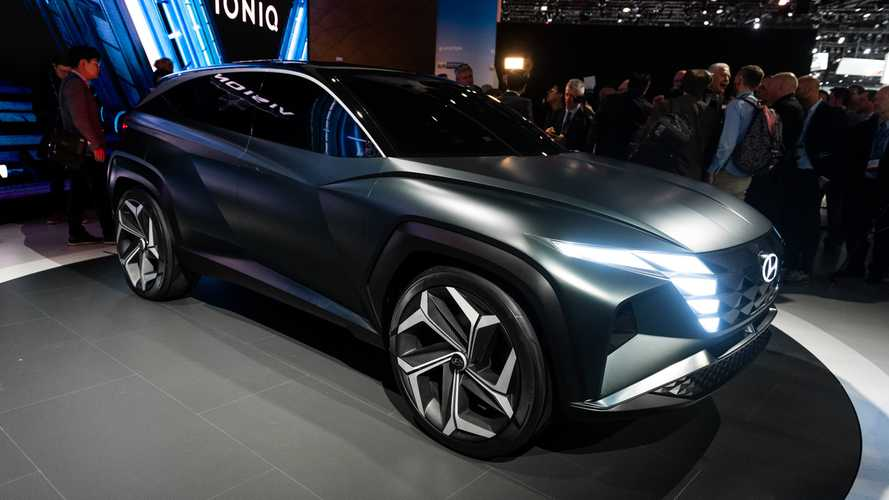 Hyundai Vision T Concept Previews Brand's Future SUV Design Language