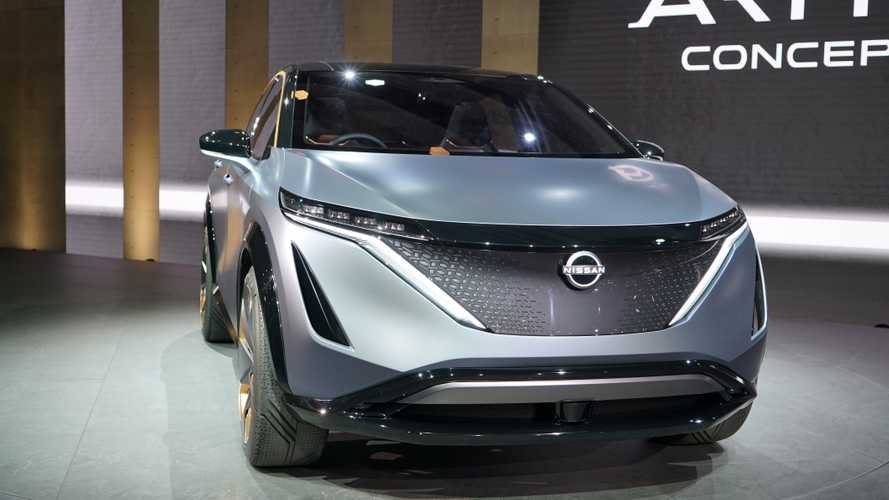 Nissan Ariya EV crossover to be sold in Europe, debut coming July 15