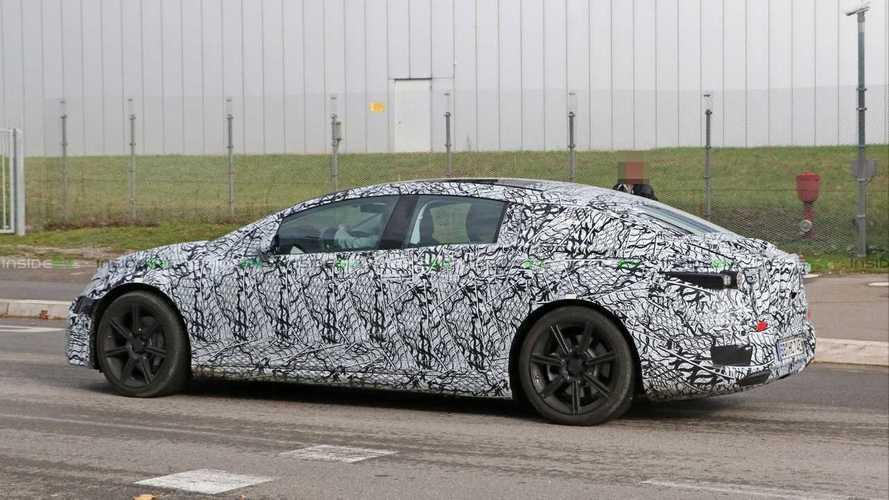 Mercedes-Benz EQS Prototype Electric Sedan Caught Testing