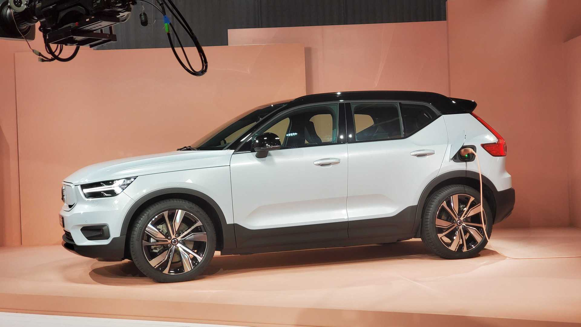 Volvo XC40 Recharge Makes Its World Debut In L.A.