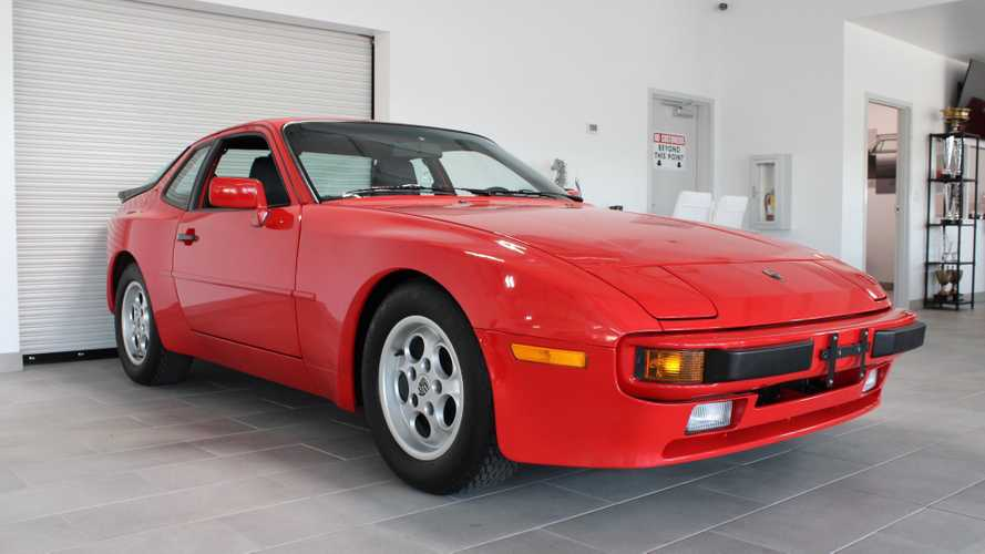 Low-Mileage Porsche 944 Is A Museum Find