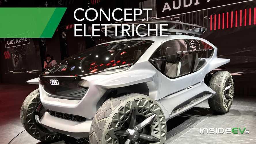 Auto elettriche, le concept più belle del Salone di Francoforte 2019
