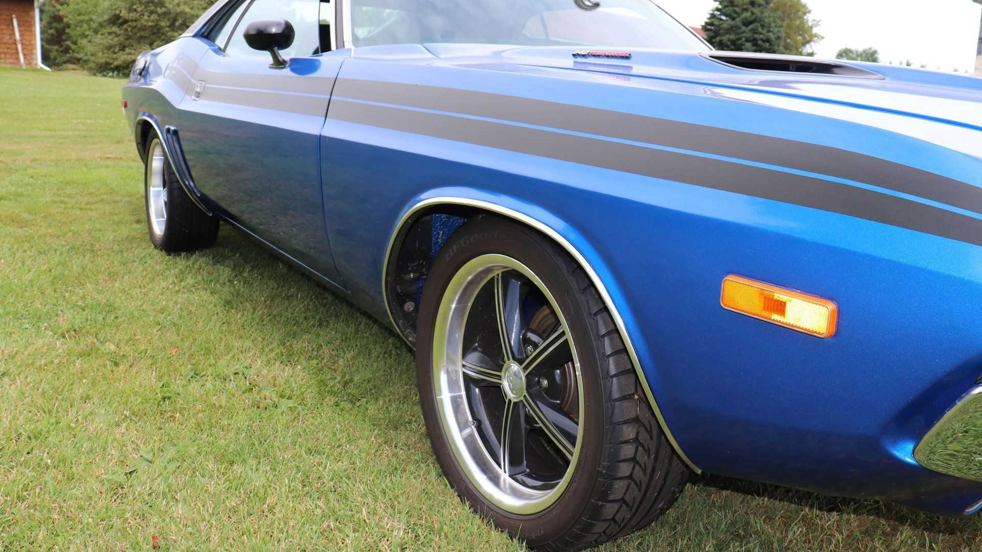 """[""""Let A 1972 Dodge Challenger Brighten Your Day""""]"""