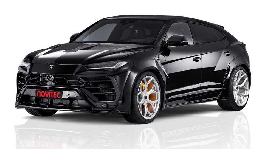 Lamborghini Urus von Novitec kommt extrabreit und extrastark