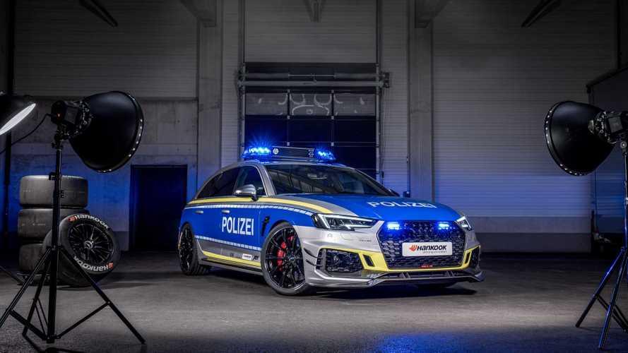 Rendőrkézbe került az ABT által megdolgozott Audi RS4-R Avant