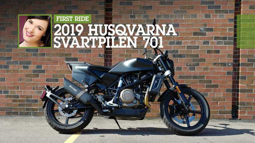 First Ride: 2019 Husqvarna Svartpilen 701