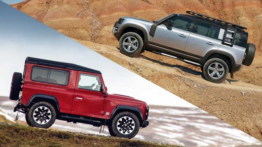 Land Rover Defender: See The Changes Side By Side