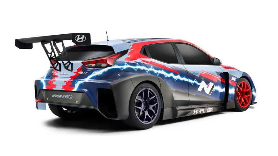 Hyundai Veloster N ETCR 2020, el nuevo eléctrico de carreras coreano