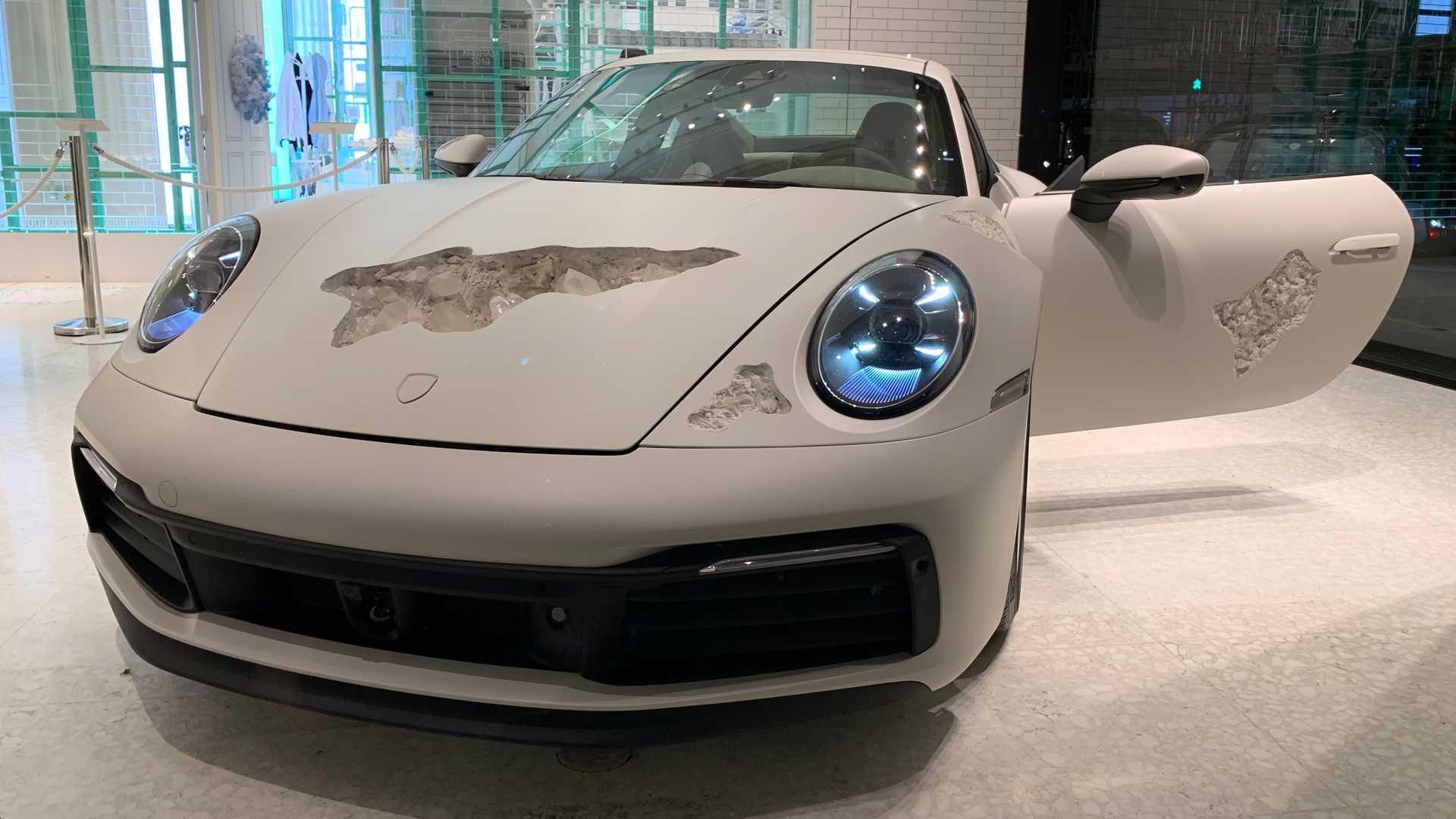 Eroding Porsche 911 Art Car Is Completely Drivable