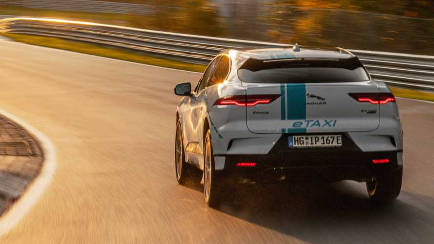 Jaguar Offers Eco-Friendly Passenger Laps Of The Nürburgring