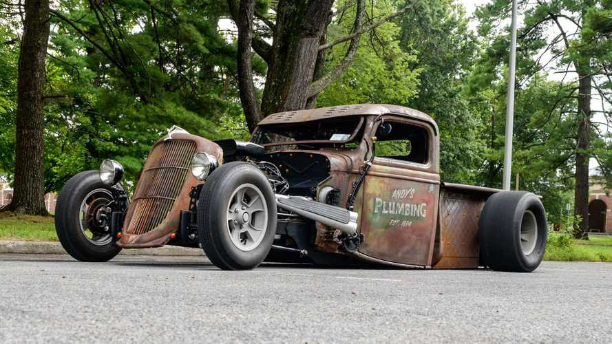 Low-Riding 1936 Ford Rat Rod Sells For $24K