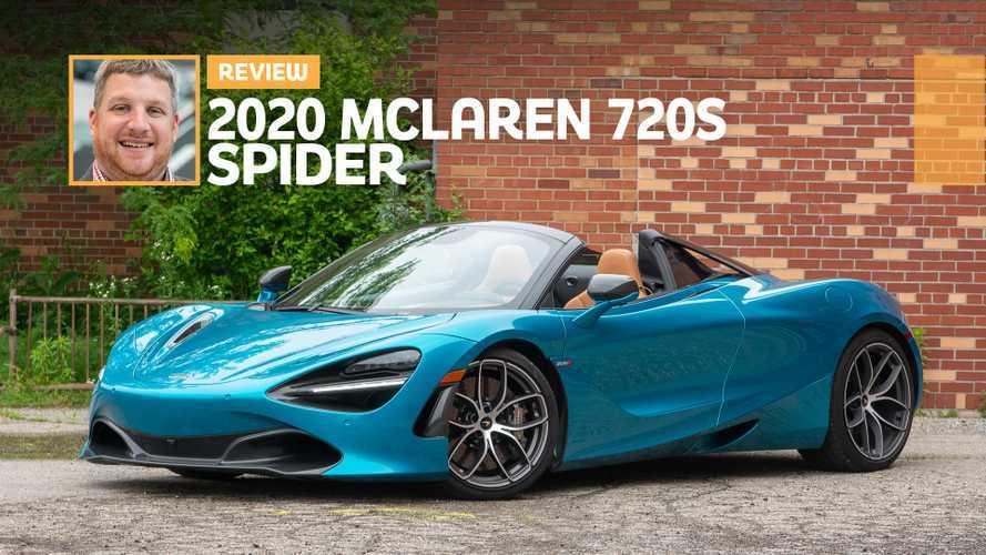 2020 McLaren 720S Spider Review: Superstar Supercar