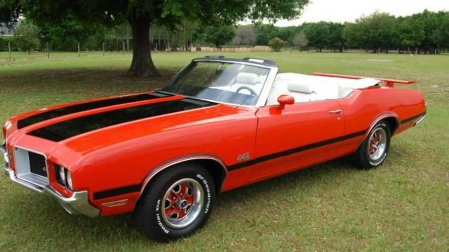 Bid On This 1972 Oldsmobile Cutlass 442 Convertible Tribute