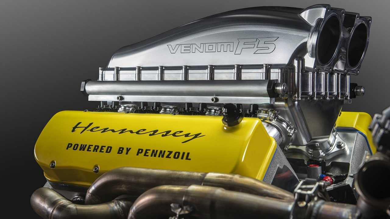 "Hennessey Venom F5's ""Fury"" Engine"