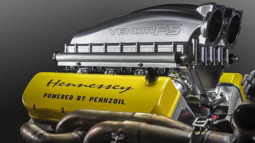 1817 lóerős motor kerül a Bugatti-verőnek tűnő Hennessey Venom F5-be