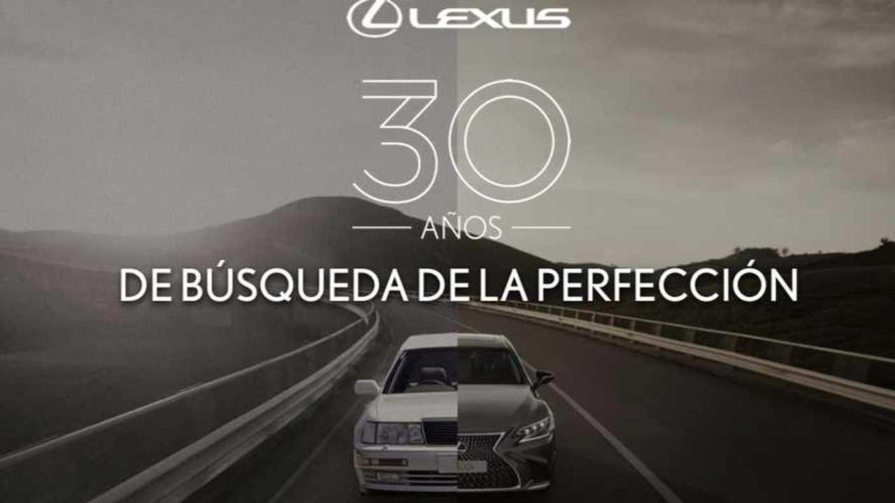 30º Aniversario de Lexus: momentos clave en la historia
