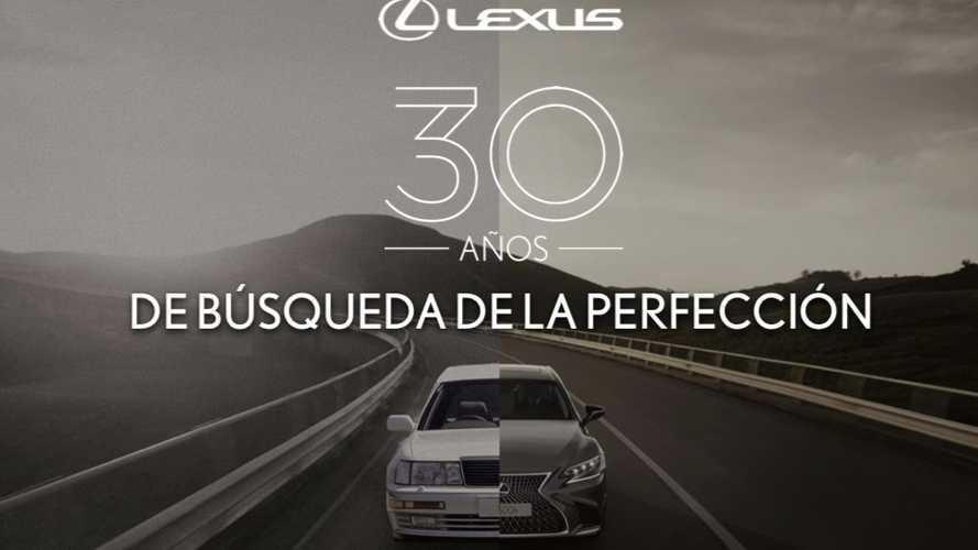Los hitos más importantes de los 30 años de historia de Lexus