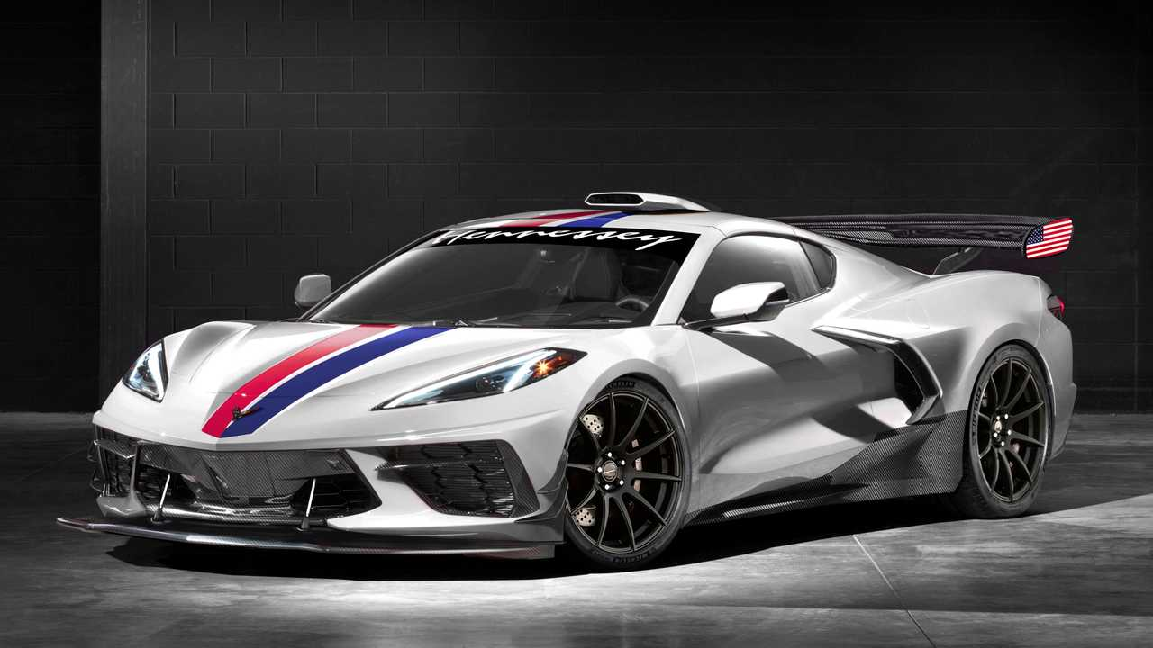 2020 corvette will get up to 1 200 horsepower from hennessey