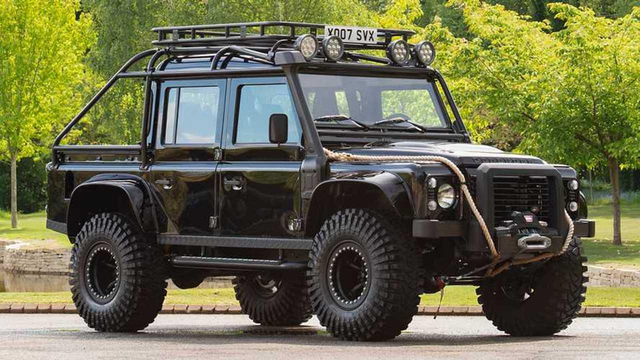 Land Rover Defender de Spectre en venta