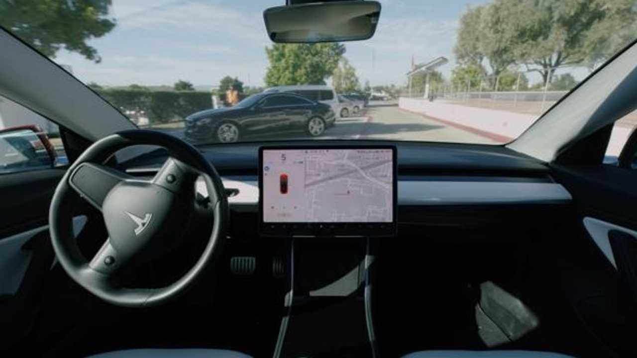 tesla self-driving new