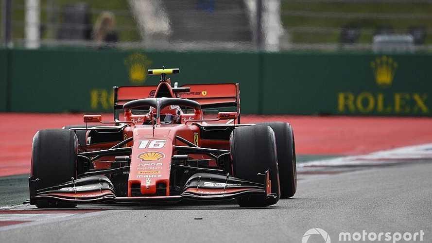 F1: Leclerc 'voa' e faz pole position no Grande Prêmio da Rússia de F1