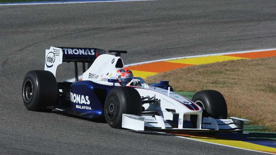 Kubica a 2009-es BMW Sauberrel: az a hang... (videó)