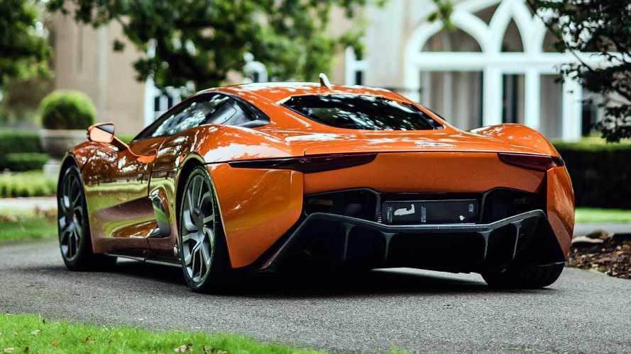 La Jaguar C-X75 du film Spectre va être vendue aux enchères