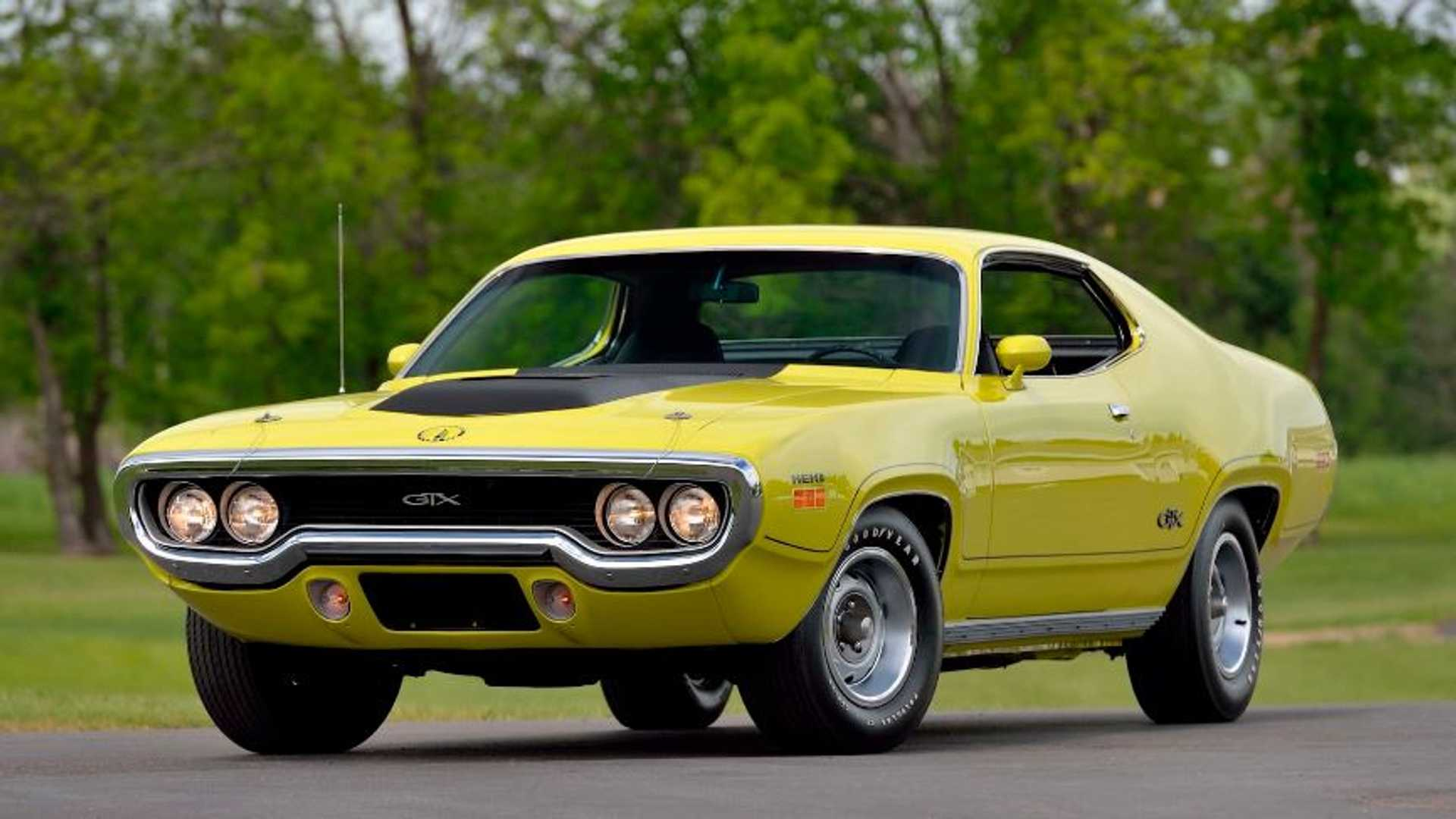 Ultra-Rare Restored 1971 Plymouth Hemi GTX Sold For $253K At Mecum
