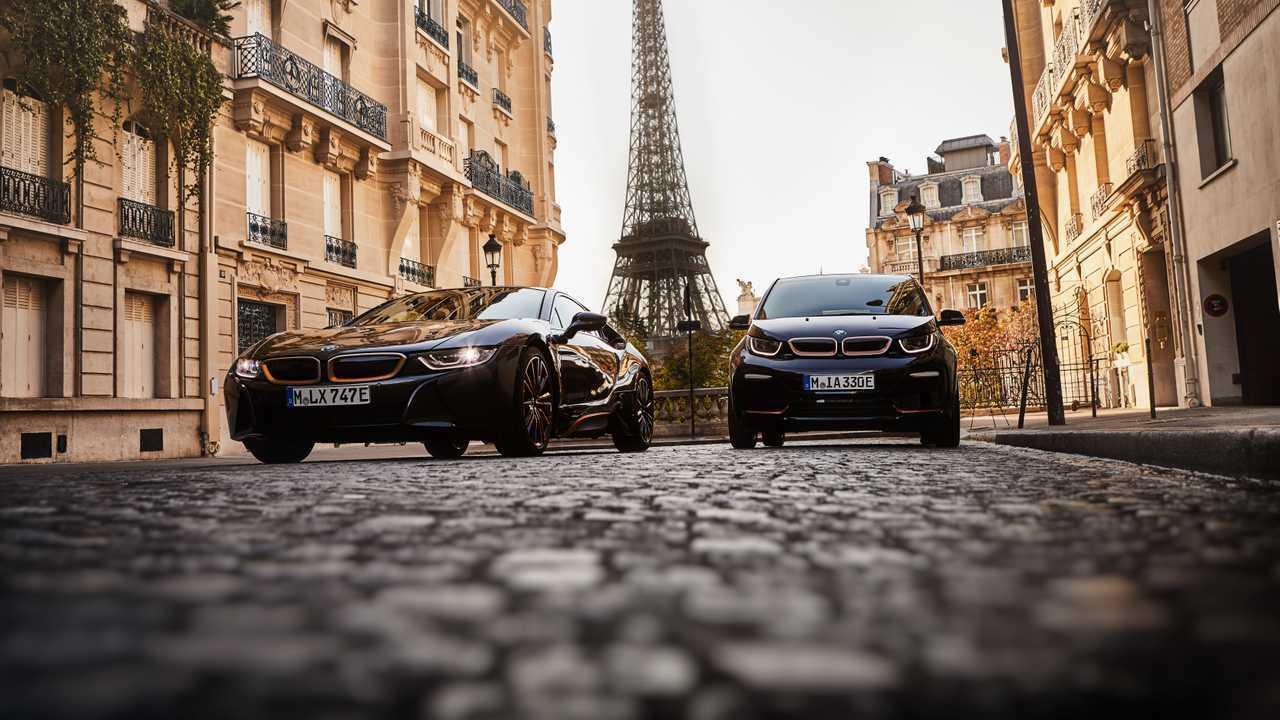 BMW i3s RoadStyle, i8 Ultimate Sophisto